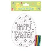 Easter Colour Your Own Jigsaw (28626-CJCC)