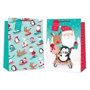 Cute Sledging Characters Gift Bag S/jumbo (2865)