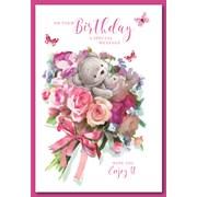 Simon Elvin Cute Female Birthday Cards (28689)