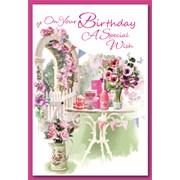 Simon Elvin Trad Female Birthday Cards (28690)