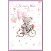 Simon Elvin Female Birthday Cards (28698)