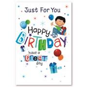 Simon Elvin Male Birthday Cards (28771)