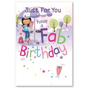 Simon Elvin Female Birthday Cards (28774)