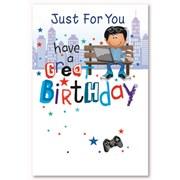 Simon Elvin Male Birthday Cards (28775)