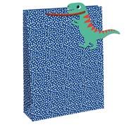 Blue Spot/ Dinosaur Tag Gift Bag Medium (28785-3C)