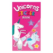 Unicorn Sticker Book (28836-SC)