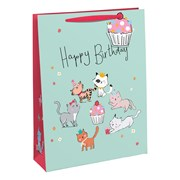 Kitten Party Gift Bag Medium (28887-3C)