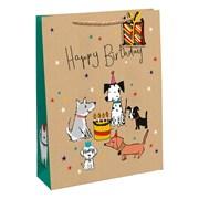 Puppy Party Gift Bag Medium (28902-3C)