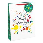 Birthday Splash Gift Bag X/lge (28908-1WC)
