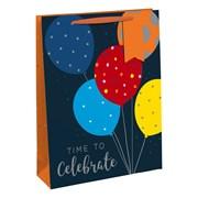 Balloons Gift Bag Bottle (28926-4C)