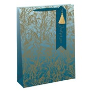 Ombre Feathers Gift Bag Large (28932-2C)