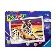 Ravensburger Creart Paint by Numbers - Majestic Tiger (28937)
