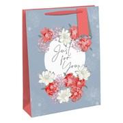 Flower Frame Gift Bag Large (28944-2C)
