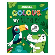 Colour By Numbers Book Jungle (28983-JUNC)