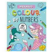 Colour By Numbers Book Mermaid (28986-MERC)