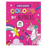 Colour By Numbers Book Unicorn (28989-UNIC)