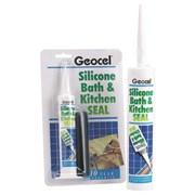 Geocel Bath & Kitchen Seal Clear 310ml (2939231)