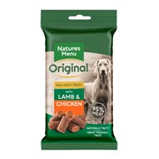 Natures Menu Real Meat Lamb & Chicken Mini Treats For Dogs 60g (NMLCT)