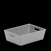 Wham Studio Basket Rectangular Cool Grey 3.01 (25527)