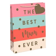 Best Mum Gift Bag Large (30027-2C)