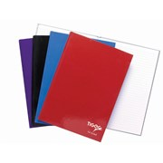 Casebound Notebook-assorted Colours-80 Sheets A4 (300390)