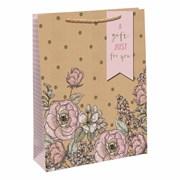 Elegant Flowers Gift Bag Medium (30048-3C)