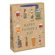 Kraft Beer Gift Bag Medium (30108-3C)