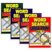 Lge Print Word Search Books A4 (3015)