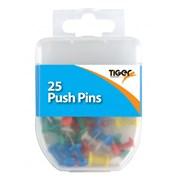 Essential 25 Push Pins (301583)