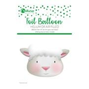 Easter Lamb Foil Balloon (30207-E3C)