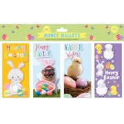 Easter  Money Wallets 4pack (30219-MWC)