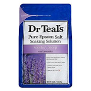 Dr Teal's Lavendar Epsom Salt Soothe & Sleep 1.36kg (3030001)