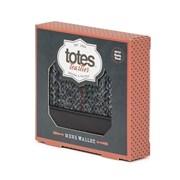 Totes Isotoner Mens Harris Tweed Wallet (3108A)