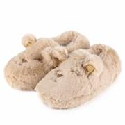Totes Isotoner Novelty Faux Fur Slipper Bear Large (3125FBEAL)