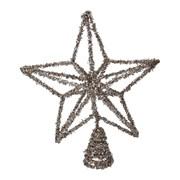 Gisela Graham Gold Glitter Wire Tree Top Star (31704)