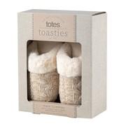 Totes Isotoner Knit Mule W/tartan Binding Multi Large (3216FMULL)
