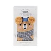 Totes Isotoner Original Slipper Sox Novelty Bear (3220FBEA)