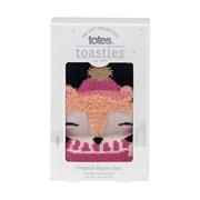 Totes Isotoner Original Slipper Sox Novelty Fox (3220FFOX)