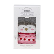 Totes Isotoner Original Slipper Sox Novelty Penguin (3220FPEN)