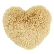 Cuddly Heart 3d Cushion Ochre (DS/32263/W/3DCU/OC)