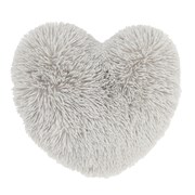 Cuddly Heart 3d Cushion Silver (DS/32263/W/3DCU/SI)