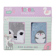 Totes Isotoner Girls Tots Socks Twin Pack (3327D)