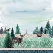 Ambiente Napkin Deer Winterscene (33313440)