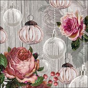 Ambiente Napkin Roses And Baubles (33314690)