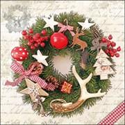 Ambiente Napkin Forest Wreath 33cm (33315275)