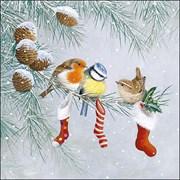 Ambiente Napkin Christmas Socks (33315310)