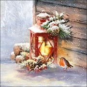 Ambiente Napkin Robin By Lantern 33cm (33315340)