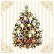 Ambiente Napkin Xmas Tree Cream (33315345)