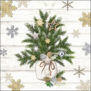 Ambiente Napkin Decorated Branches (33315350)