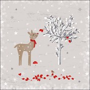 Ambiente Napkin Sniffing Deer (33315480)